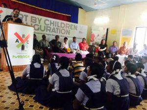 mercks-art-by-children-programme-launched-by-krihmachari-bose-and-krishnagiri-panchayat-sarpanch-krishnagiri
