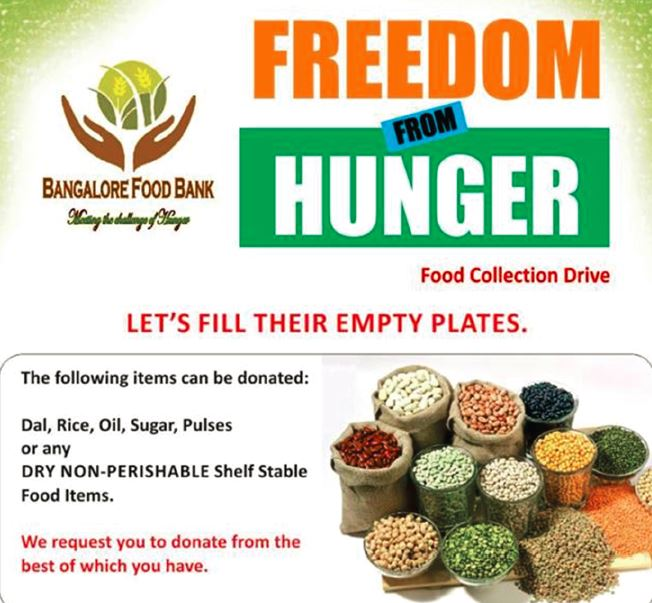 Bangalore Food Bank Providing a Sustainable Solution to